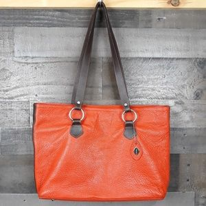I Santi Leather Shoulder Bag